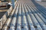 Fundação da construção de aço com parafuso de escora e placa da posição