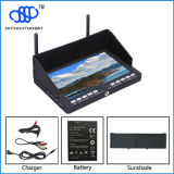 2015 nieuwe Product RC708 5.8g 40CH 7 Inch HDMI Geen Blue Screen Fpv Monitor Compatible voor Fatshark, Immersion RC