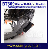 Impermeável Bt Interphone Bluetooth Capacete de Motocicleta Intercom Headset 1000m Metros Motocicleta