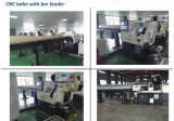 CNCの回転中心のための棒ローディング機械送り装置
