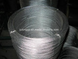 전기판. 직류 전기를 통한 Steel Wire Rope 6*12+7FC