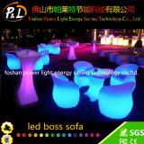 Table basse rechargeable lumineuse par meubles du jardin DEL
