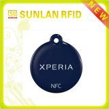 13.56MHz kundenspezifische Epoxy-Kleber Belüftung-Marke der Größen-NFC kontaktlose