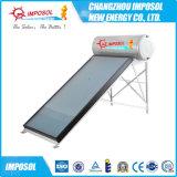 Calefator de água solar do estojo compato profissional do telhado