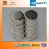 Grande magnete del cilindro del neodimio permanente con ISO/Ts 16949