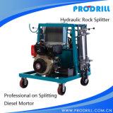 (Typ C12) hydraulischer Steinteiler Pd450 für natürliche Steindemolierung