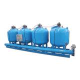 Acqua di irrigazione di filtrazione con controllo di differenza di pressione dei filtri da media ghiaia/della sabbia