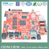 Carte à circuit imprimé de carte à circuit de souris de carte à circuit de GPS réutilisant le matériel