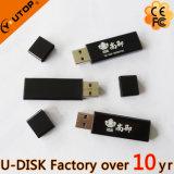 Clé de mémoire USB en plastique d'affaires du logo de Silkscreen fait sur commande le meilleur marché (YT-1113L)