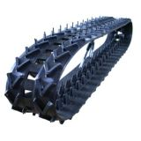 Piste en caoutchouc agricole (123*40*60) pour le petit usage de machine