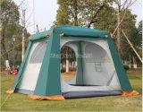Tenda di campeggio esterna di doppio strato del vestito della persona 4-6 grande