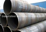 Pipe en acier de l'utilisation SSAW de canalisation de pétrole