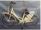 bicicletta elettrica di stile classico della città 700C con CE (JSL-036X)