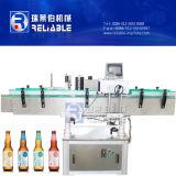 Máquina de etiquetado adhesiva automática de China para la botella