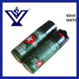Горячее сбывание 60 самозащитой оборудования Ml слезоточивого газа перцового аэрозоля (SYSG-74)