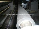 Gestion par ordinateur automatique verticale fendant la machine de rebobinage pour la feuille de plastique
