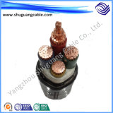 불소 Plastic Insulation와 Sheath Electric Power Cable