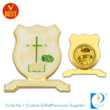 Promotional Gifts (KD-198)를 위한 최신 Sale Golden Flag Badge