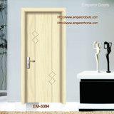 Design elegante Wooden Door Used para o quarto de Interior
