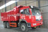 HOWOのトラック18cbm Sinotrukのダンプカーのダンプトラック