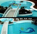 Sari Blue Mosaic di modo per la piscina/Bathroom