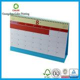 Conception chaude de calendrier de papier d'imprimerie de ventes