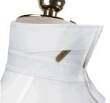 رجال [توب-قوليتي] بيضاء [لونغ-سليف] [دب] قطن [إيرون-فر] قميص رسميّة