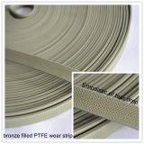 Peças sobresselentes da fita do desgaste de PTFE feitas na tira do guia de China