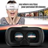 지능적인 전화를 위한 Google 가상 현실 Vr 상자 헤드폰 3D 유리
