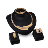 nuevos collar/pendiente del oro 18k fijado para las mujeres (C-XSST0034)