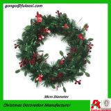 Kroon van het Klatergoud van het Gras van de Decoratie van de vakantie de Groene