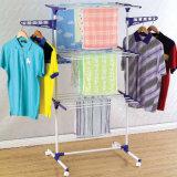 Acier enduit de poudre trois vêtements de couche séchant l'armoire