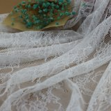 アフリカのナイロンかぎ針編みファブリック衣服のアクセサリのための編むボイルのレース