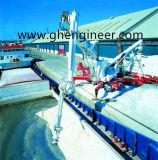 De Losinstallatie van het Schip van de schroef voor de Haven van de Pier en van de Rivier