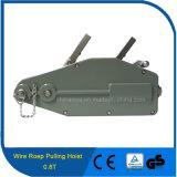 веревочка провода ручной лебедки ворота веревочки провода ворота кабеля использования конструкции 0.8t Tirfor вытягивая подъем