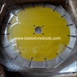 CB-9 다이아몬드 세그먼트 화강암 건조한 절단 잎 (105-235mm)