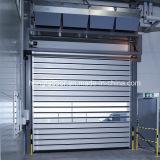 Ragid de alumínio rápido rola acima a porta industrial (HF-K93)