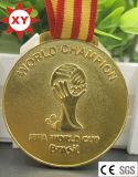 Progettare l'oro per il cliente d'argento Bronze delle medaglie placcato (XYmxl100803)