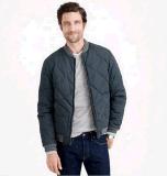 Куртка людей нестандартной конструкции верхнего качества вскользь выстеганная проложенная