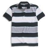 Camisa de polo do costume 80%Cotton 20%Poyester (P-29)