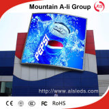 P6 Outdoor LED Display Screen Panel für Video Advertizing