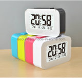 LCD Digital Desk Clock with Calendar Display and Optional Backlight Modes (LC835)