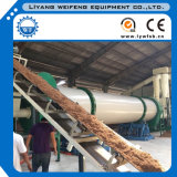 Industrielles Sawdust Wood Chips Rotary Drum Dryer für Sale