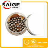 Esfera de aço inoxidável de G60 AISI 316/316L 4mm, esferas de aço de classe elevada
