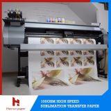 36 '' /44 '' /54 '' /63 '' /64 '' /72 '' rodillo seco rápido de alta velocidad del papel de la sublimación para la tela de la sublimación