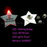 Luces con logotipo de impresión personalizada de la estrella del centelleo LED (3569)