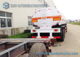 3 acoplado lleno del petrolero del combustible M3 del acoplado 20 del depósito lleno del petróleo del árbol, acoplado del tren del buque de petróleo