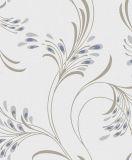 Papel pintado hermoso del hogar del diseño del pavo real para la decoración