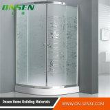 Cabine de alumínio do chuveiro da porta deslizante para o banheiro