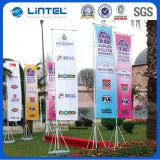 旗竿(LT-14)広告する100%年のポリエステル飛行の旗